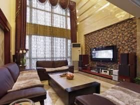 美式风情210平米别墅装修案例欣赏