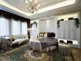 精致新古典奢华三居室装潢设计欣赏