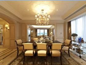 米色现代欧式风格三居大户型装修欣赏