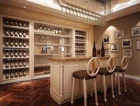 欧式风格160平米三室一厅装修设计案例