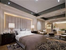 现代美式摩登二居装修案例欣赏