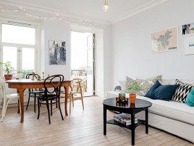 乡村欧式一居室装潢欣赏