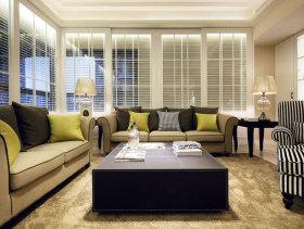 唯美新古典风三居室设计效果