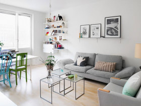 现代简约小户型公寓鉴赏