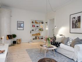 通透两居室北欧装修案例