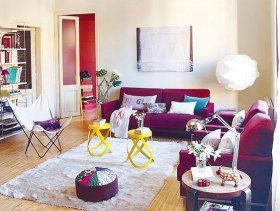 现代简约两居室案例欣赏