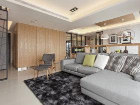 中国风现代简约三居室案例赏析