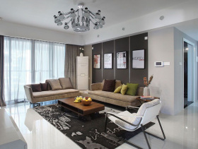 简约现代两居室装修案例鉴赏