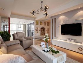 简约现代三居室装潢欣赏