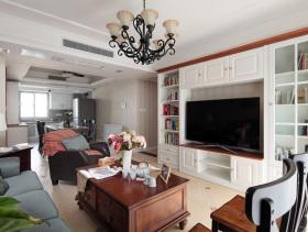 恬淡美式三居室装修美图