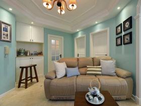 清新美式三居室美图分享