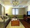 优雅美式混搭三居室案例图