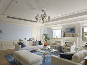 清新现代简约三居室案例欣赏