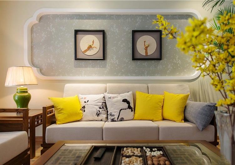 时尚新中式三居室装修