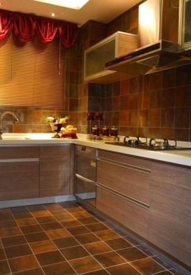 2016东南亚风格厨房装修图片