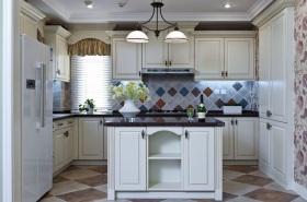 清新地中海风格厨房装修效果图