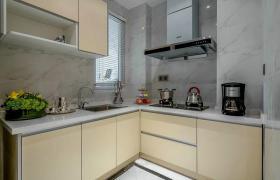 米色新古典厨房装修设计