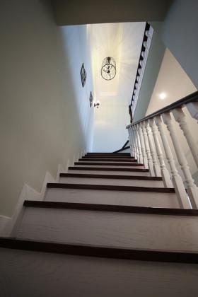 混搭风格楼梯装修图片