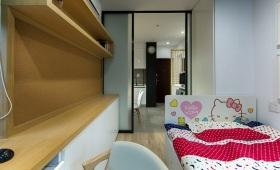 黄色简约风格儿童房装修案例
