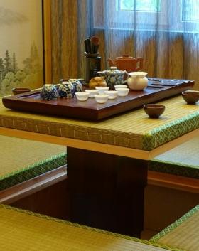 雅致茶韵中式风格榻榻米图片赏析