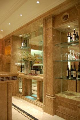雅致大气欧式风格酒柜装饰案例