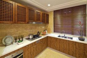 2016雅致中式风格厨房效果图设计