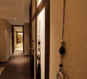 雅致中式风格过道装饰图欣赏