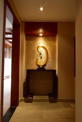 东南亚风格客厅玄关装饰美图