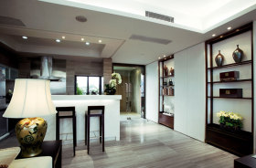 中式风格吧台设计案例