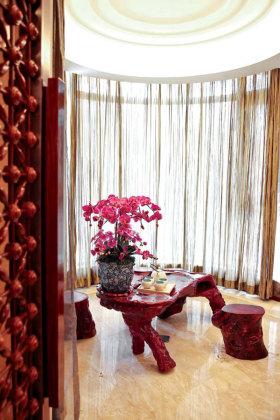 中式时尚雅致休闲茶桌设计欣赏