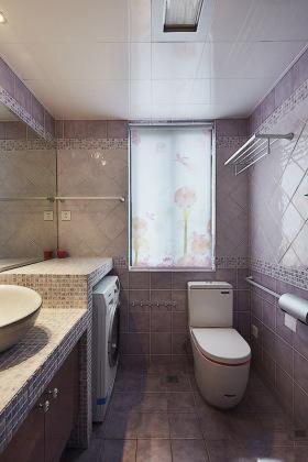 灰色简约风格卫生间装饰设计案例