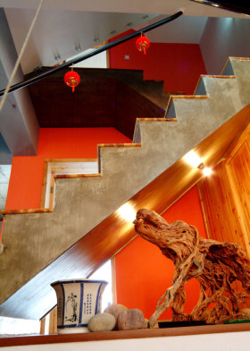 2016中式楼梯设计效果图欣赏