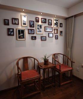 中式时尚照片墙效果图赏析
