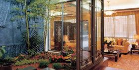 复古大气中式风格花园设计案例