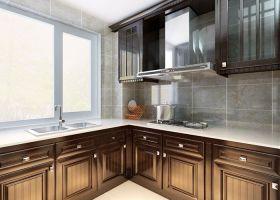简洁中式风格厨房装潢设计