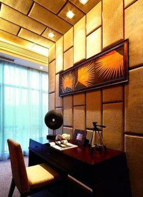 东南亚时尚装饰书房装潢设计图片
