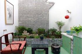 雅致中式风格花园装修设计图