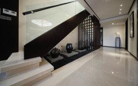 中式黑色楼梯设计图