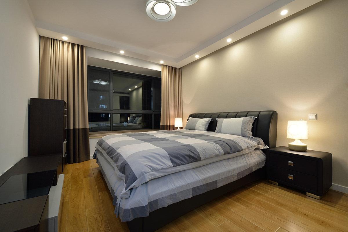 现代风格温馨舒适2016卧室设计图