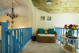 地中海风格浪漫蓝色沙发装饰设计