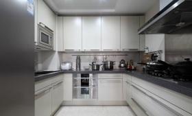 中式灰色雅致风格厨房美图欣赏