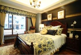 新古典风格黑色卧室装修图片