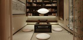中式风格雅致榻榻米装修案例