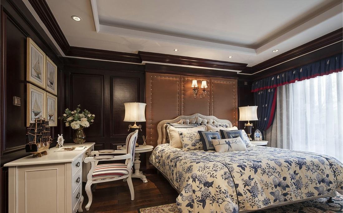 浪漫欧式古堡风卧室装修效果图片