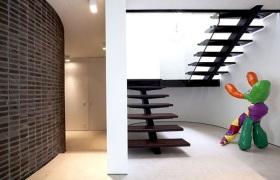 现代时尚楼梯装修案例