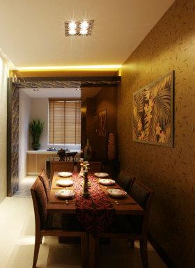 东南亚风格餐厅装修布置