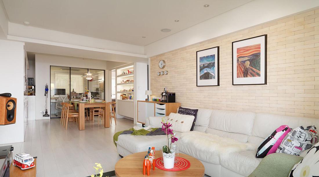 2016宜家风格清新白色客厅装修案例