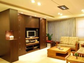 现代风格黄色客厅设计效果图