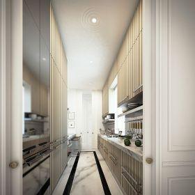 2016时尚新古典风格白色厨房装修设计