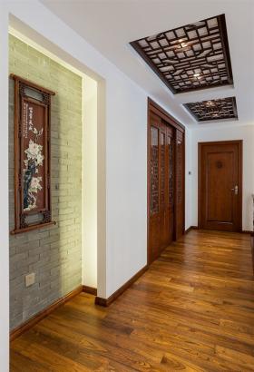 中式风格浪漫米色过道装修图片
